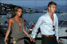 Los Beckham invitados a la Mansión Playboy