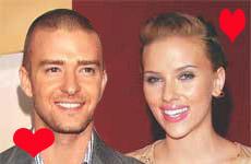 Justin Timberblake y Scarlett Johansson juntos