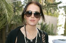 Lindsay Lohan luce de 40