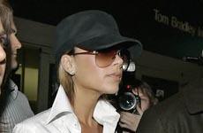 "Victoria ""Posh"" Beckham ya está en L.A"