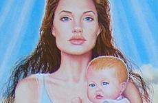 Santa Angelina Jolie y sus apóstoles