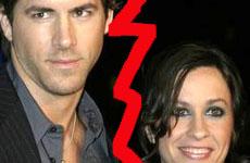 Ryan Reynolds y Alanis Morrisette terminan