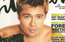 Brad Pitt en Interview Magazine