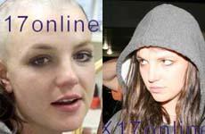 Britney se afeitó la cabeza – Está calva!
