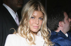 Fergie en el Kim Jones Fashion Show (pics)