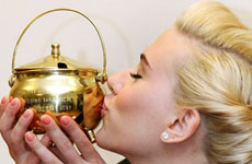 Scarlett Johansson Mujer del Año (Hasty Pudding)
