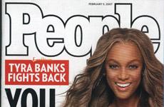 Tyra Banks en People Magazine