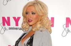Christina Aguilera en la Fiesta Nylon