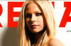 Avril Lavigne en la Revista Arena