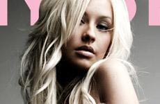 Christina Aguilera en Nylon (tomas)