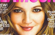 Drew Barrymore en la Revista Glamour