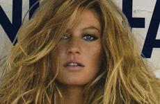 Gisele Bundchen en Vanityfair Italy