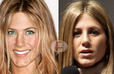Jennifer Aniston y su nariz