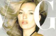 Kate Moss en Vogue Magazine