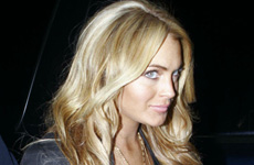 Lindsay Lohan ahora es rubia