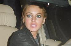 La Lohan atropella a un paparazzi (?)