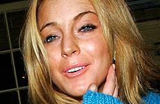 Qué es eso blanco en la cara Lindsay?