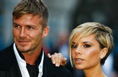 El nuevo look de los Beckhams