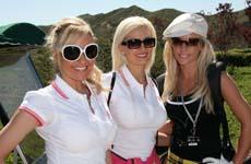 Kendra, Holly & Bridget (7th Playboy Golf)
