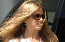 Jennifer Aniston en Century City