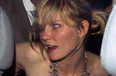 Kirsten Dunst se emborracha en Londres