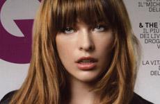 Milla Jovovich en GQ Magazine