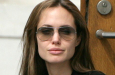 Angelina Jolie se ve saludable