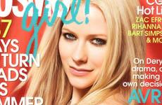 Avril Lavigne en Cosmogirl