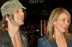 Cameron Diaz y Criss Angel? Freak!
