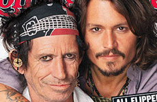 Johnny Depp & Keith Richards (Rolling Stone)