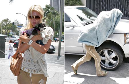 Paris Hilton se enconde… WHAT?