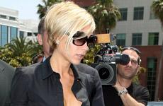 Victoria Beckham detenida por la policia