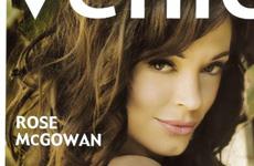 Rose McGowan en la Revista Venice