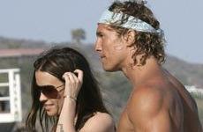 Alanis Morissette y Matthew McConaughey