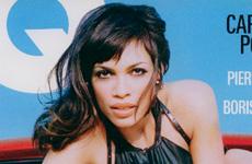 Rosario Dawson en GQ magazine