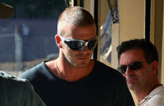 David Beckham le teme a los paparazzis de USA