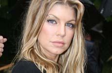 Fergie en el Karl Lagerfeld Fall/Winter 2007-08 show