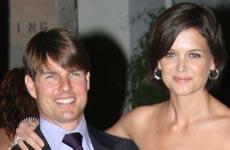 Tom Cruise y Katie Holmes se divierten bailando