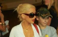Christina Aguilera de compras en Hollywood