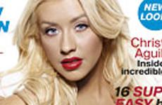 Christina Aguilera en InStyle Magazine (portada – cover)