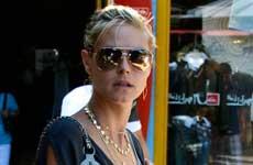 Heidi Klum no se impresiona con los Beckhams