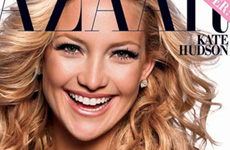 Kate Hudson en Haper's Bazaar