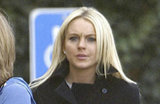 Lindsay Lohan en un break de rehab