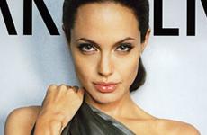 Angelina Jolie al descubierto en Park Avenue