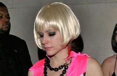 Avril Lavigne disfrazada en Hyde