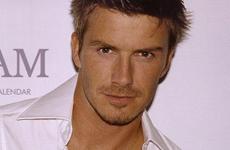 David Beckham declarado el mas Hombre
