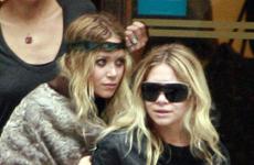 Ashley y Mary-Kate Olsen de compras en Paris