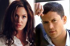 Angelina Jolie y Wentworth Miller los mas HOT
