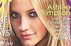 Ashlee Simpson en Cosmo Girl (Dic - Ene)