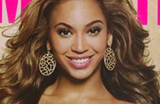 Beyonce en la portada de Cosmopolitan Diciembre